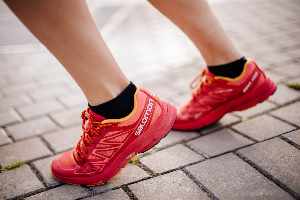 Salomon Sonic Aero Women S Trail Running Shoes Aw